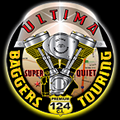 Ultima 124ci Bagger Engine